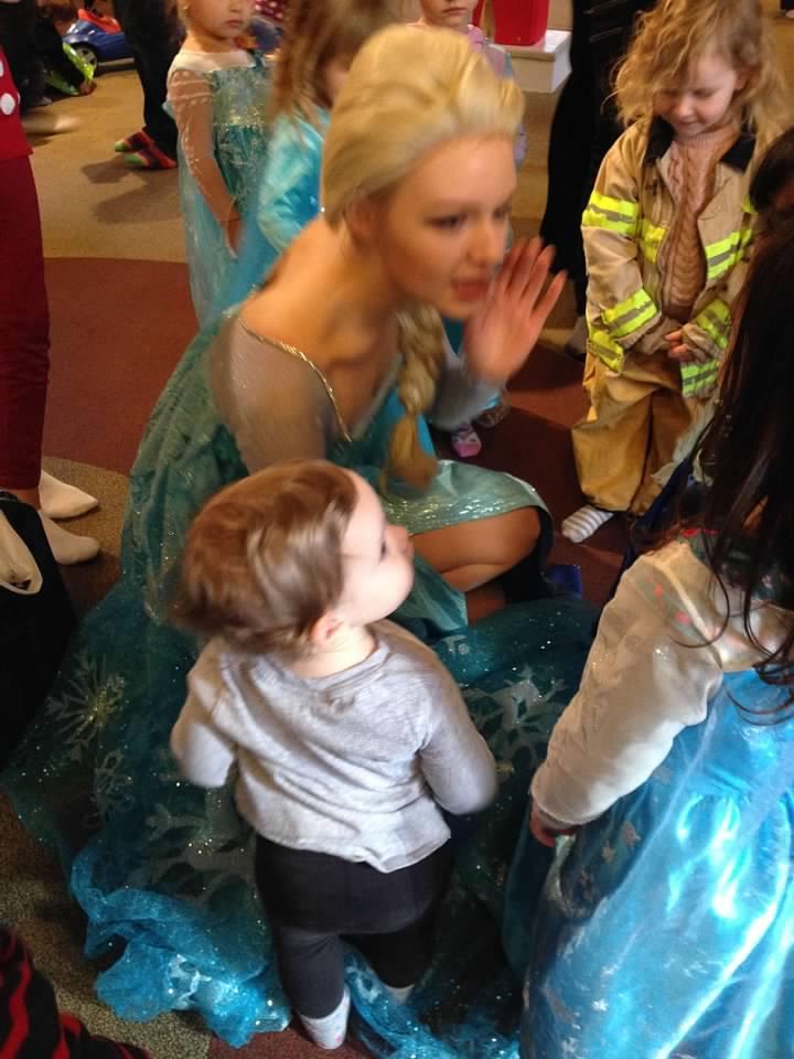 Elsa and Maddie